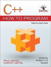 C++ How to Program 10th Int'l Edition