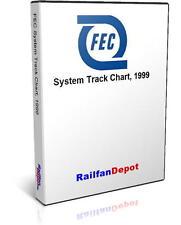 Florida East Coast Railway Track Chart - PDF on CD - RailfanDepot