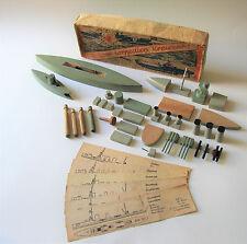 """*** original Marine-Spiel """"U-Boot torpediert Kreuzer"""" von 1940 ***"""