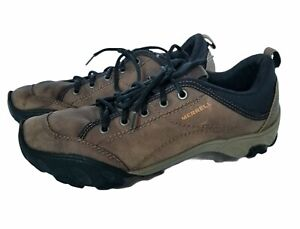 Merrell Men's Size 11 US 10.5 UK 45 Eur Trail Shoes Brown Sight Leather J75137