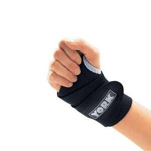 York Wrist Support Adjustable Neoprene Gym Sports Brace