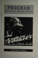 COOKIN' AT THE COOKERY, The Music and Times Of Alberta Hunter - PROGRAM - 2003