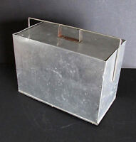 "Old 1950s Industrial Aluminum Cooler High School Shop Project 18"" FREE SH"