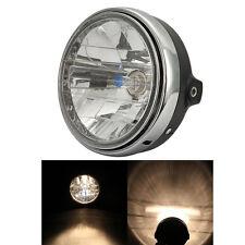 Motorcycle Halogen Headlight Blub Hi/Lo Beam Head Lamp H4 12V Universal Custom