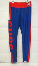 Chicago Cubs Women's Small Stripe Leggings Forever Collectibles