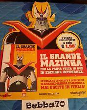DVD IL GRANDE MAZINGA, USCITA NUMERO 1, NUOVO