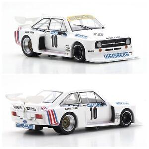 1/43 Spark Ford Escort II RS N°10 DRM Norisring 1977 Toine Hezemans Limité 300ex