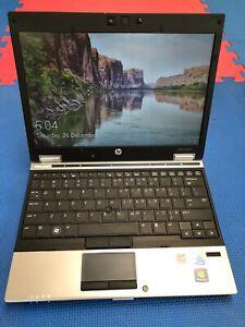 """HP EliteBook 2540P Corei7 4GB RAM 240GB SSD Wi-Fi 14"""" LED Win10 Pro - Used"""