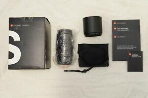 Leica APO Elmar-S F3.5 180mm CS Lens