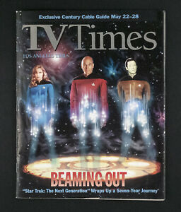 """STAR TREK: TNG"" BEAMING OUT SPECIAL ISSUE - END OF THE SERIES - MAY,1994 RARE!!"