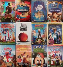 Kid's Children's Family DVDs Disney Pixar Dreamworks Christmas Many Titles 99p