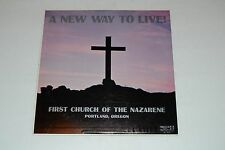 A New Way To Live! First Church Of The Nazarene Portland, Oregon FAST SHIPPING!