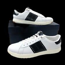 Cole Haan Men's Size 10 GrandPro Low Leather Sneaker Shoe White Black C33308 NEW