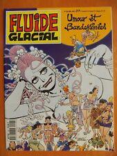 FLUIDE GLACIAL N° 202 du 04/1993. Umour et Bandessinées éditions Audie