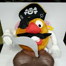 "Mr Potato Head Pirate Plush Stuffed Animal Large Halloween 23"" Giant Soft"