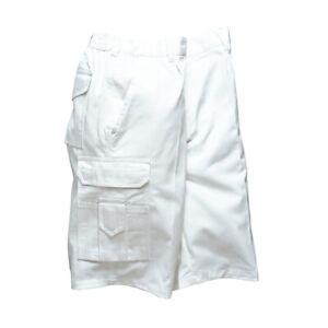 Portwest S791 -  Painters Shorts - White