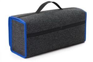 Kofferraumtasche Organizer Werkzeugtasche Autotasche Rand in Blau für VW