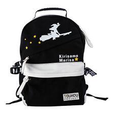 TouHou Project Kirisame Marisa Anime Shoulders bag School Backpack Cosplay Gift