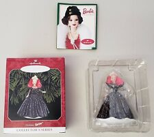 HAPPY HOLIDAYS 1998 SPECIAL EDITION BARBIE KEEPSAKE ORNAMENT 6TH IN A SERIES
