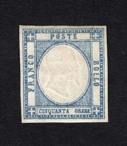 Italy 1861 stamp Mi#8a MNG CV=30€