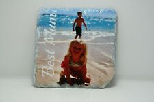 Personalised Rock photo Slate coaster Custom Photo / ideal gift mother