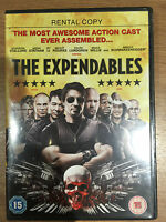 The Expendables DVD 2010 Action Movie w/ Sylvester Stallone Rental Version