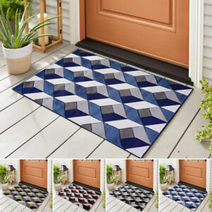 Front Door Mat Outdoor / Indoor Heavy Duty Non Slip Matt Kitchen Large Entrance
