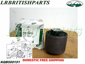 LAND ROVER FRONT DIFFERENTIAL BUSHING R ROVER SPORT LR3 LR4 NEW OEM KQB500151