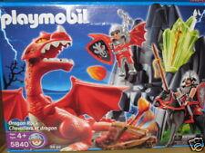 PLAYMOBIL DRAGON ROCK CHEVALIERS ET DRAGON 5840