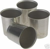 Seamless Metal VOTIVE Candle Molds (Lot of 50)