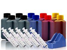 XL Nachfülltinte Drucker Tinte für CANON MG5100 MG5150 MG5250 MG5350 + Resetter