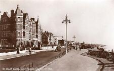 St Osyth College Parade Clacton-on-Sea unused RP old postcard