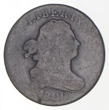 1/2c - HALF CENT - 1800 - Draped Bust United States - Half Cent *323