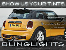 BMW MINI Cooper Tinted Tail Lamps Kit Smoked Lights Overlays Protection Film Kit