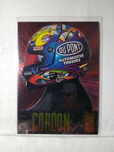 Jeff Gordon 1996 96 Press Pass VIP Head Gear All Foil Insert Card HG3 MINT F2246