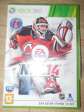 EA SPORTS NHL 14 Microsoft Xbox 360 PAL Ice Hockey Game Russian subtitles