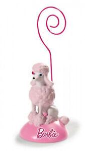 NICI 34379 Photo Holder Barbie´S Poodle Sequin 11 X 4 CM Pink