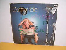 LP - DAGMAR KOLLER - WHY NOT - SIGNIERT