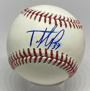Teoscar Hernandez Signed Baseball Autographed Beckett BAS Review Astros