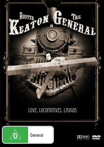 THE GENERAL DVD 1926 NEW R4 Buster Keaton SILENT MOVIE CLASSIC Train Comedy