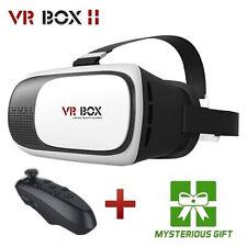 Virtual Reality 3D VR Brille Box 2.0+Fernbedienung Gamepad für Samsung iPhone