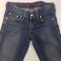 Levi's PATTY ANNE Womens Stretch Jeans W30 L34 Dark Blue Square Cut Skinny