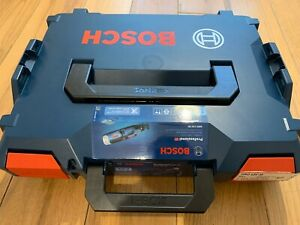 Bosch Gro 12v-35 12v Rotary Tool L-Boxx 102 and inlay with box for tool bits