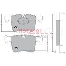 METZGER Original Bremsbelagsatz, Scheibenbremse Vorderachse BMW 1170469