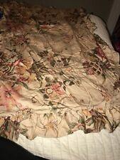 Ralph Lauren Home Single King Size Cotton Floral Pillow Sham Flowers Retired