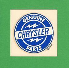 "VINTAGE ORIGINAL 1964 ED ROTH ""GENUINE CHRYSLER PARTS"" HOT ROD WATER DECAL ART"