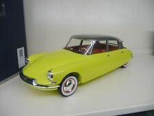1:12 Norev Citroen DS 19 yellow / grey 1958  NEU NEW