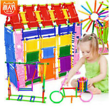 250Pcs Baby Plastic Intelligence Sticks Kids Development Building Blocks Toy Fun