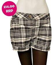 Cotton Blend Shorts Plus Size for Women