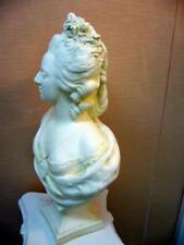buste Patine sable Marie antoinette(platre armé) H54cm
